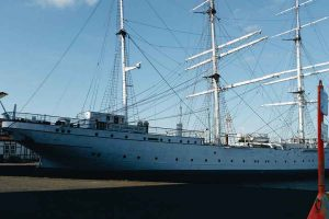 Gorch Fock 2 in Stralsund