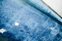 schlechter Zustand Unterwasserschiff und Antifouling