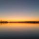 Sonnenaufgang mit Blick über das Wasser