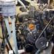 Frontansicht des Motors Yanmar 1GM10 im Segelboot