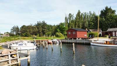 der alte Hafen auf Drejoe