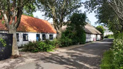 Häuser auf Drejoe