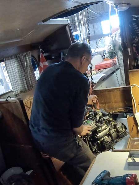Foto - Motor einbauen