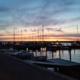 Bild Morgendämmerung im Hafen von Marstal